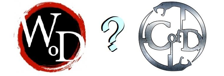 Wod Logo Fragezeichen CofD Logo