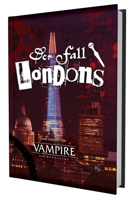 Der Fall Londons - V5 - Kampagnen Band - Dt. Edition von Ulisses Spiele