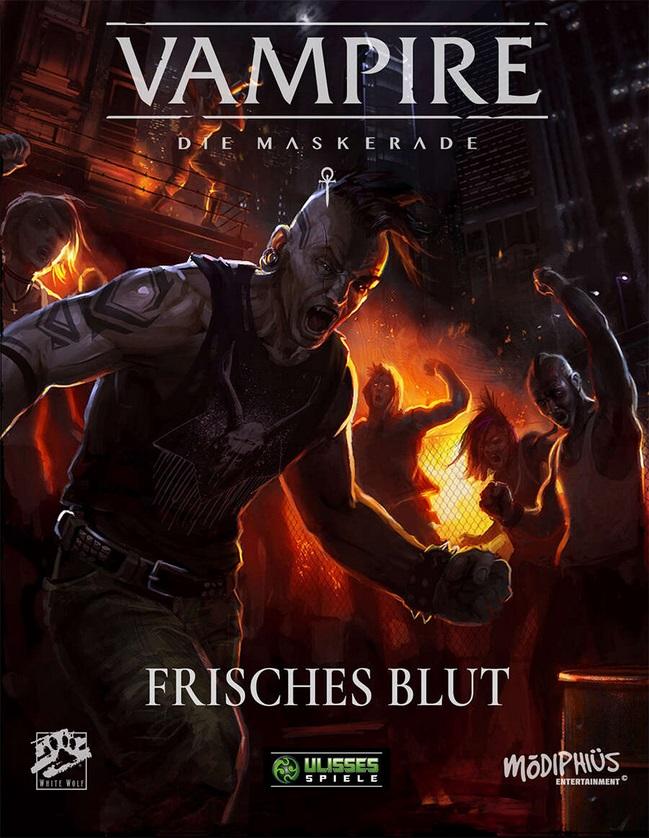 Frisches Blut - V5 - Kampagnen Band - Dt. Edition von Ulisses Spiele