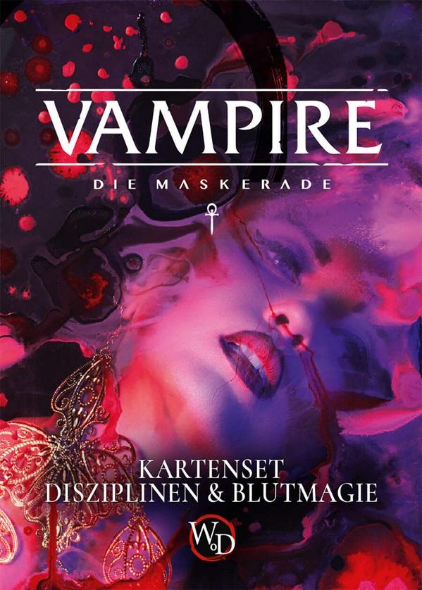 Disziplins- und Blutmagiekarten - V5 - Kampagnen Band - Dt. Edition von Ulisses Spiele