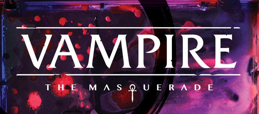Vampire: The Masquerade - Banner des Logo - V5