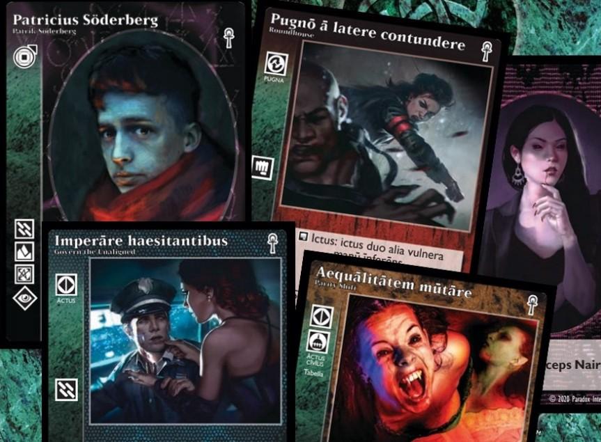 Vampire: The Eternal Struggle - 5. Edition auf Latein