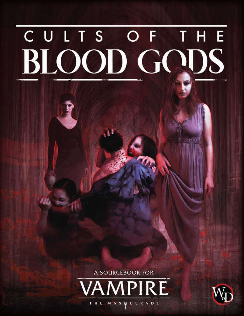 Vampire: The Masquerade - Cults of the Blood Gods - Cover