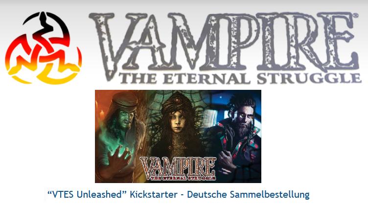 Kickstarter Vorstellung & Sammelpledge: Vampire The Eternal StruggleUnleashed