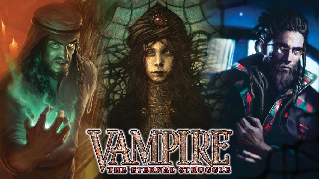 Vampire The Eternal Struggle Unleashed Kickstarter Thumbnail