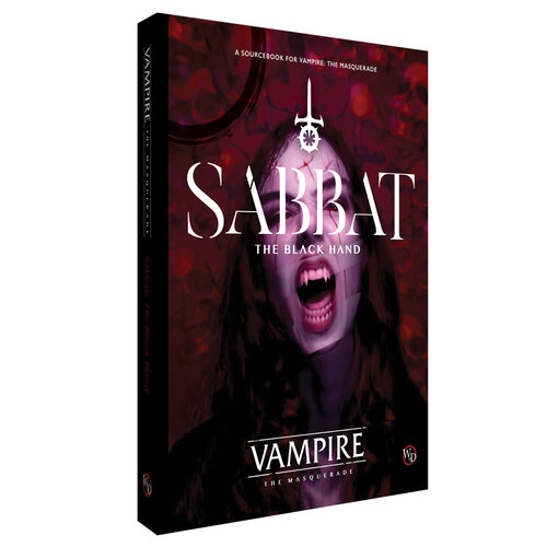 V5 - Sabbat: The Black Hand - Buch Mockup