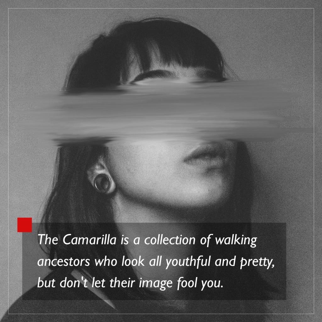 World of Darkness - Stories - 24 - Frau deren Augen mit einem Photoshop Effekt verwischt sind