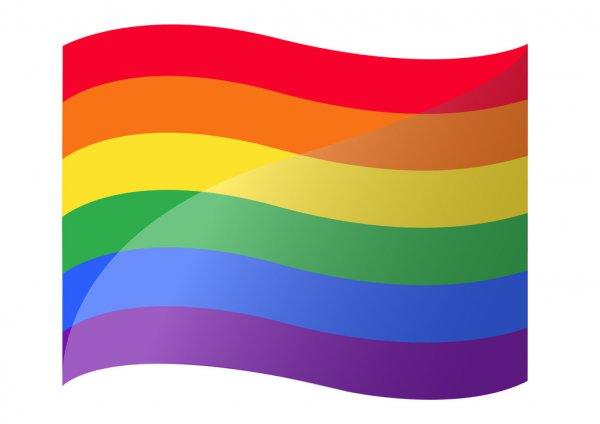 LGBTQ+ Flagge