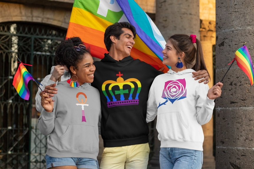 By Night Studio Pride 2021 - Merch Store mit LGBTQ+ Symbolen