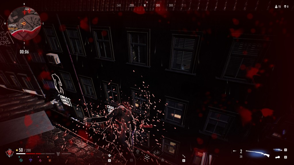 Bloodhunt - Dabei aufzustehen, wobei es wenig Glück brachte