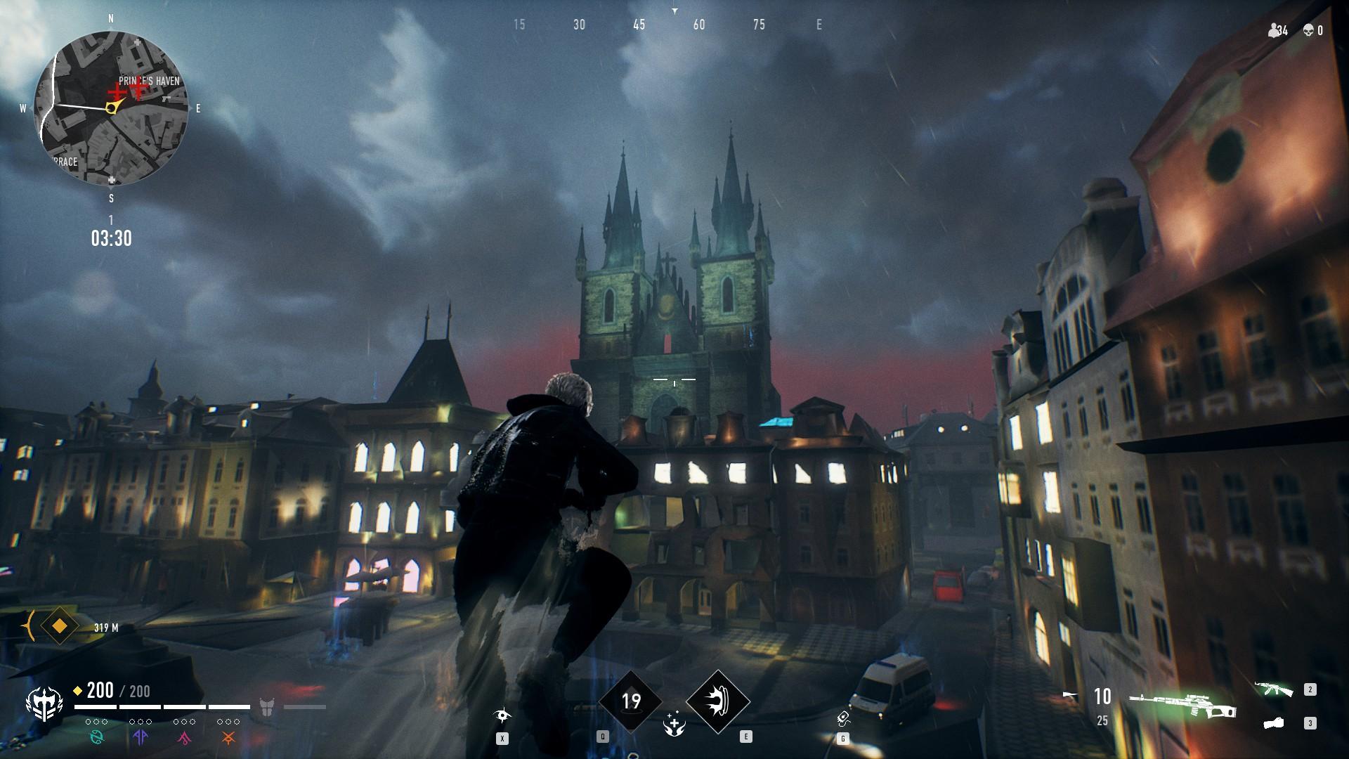 Bloodhunt - Clan Fertigkeit Brujah: Soaring Leap