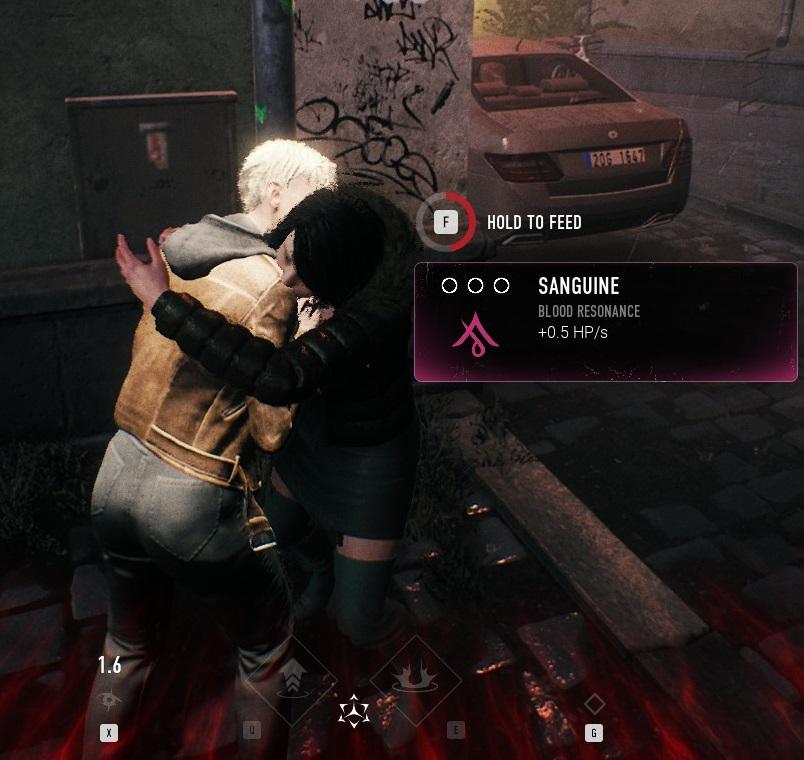 Bloodhunt - Blut trinken - NomNomNom