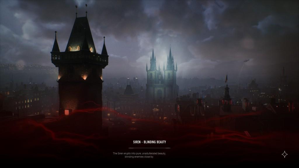 Bloodhunt - Stadt - Ladebildschirm mit Versprechen der Stadt