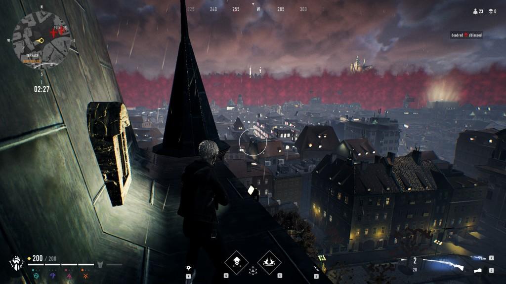 Bloodhunt - Stadt - Blick weg von Zuflucht des Prinzen