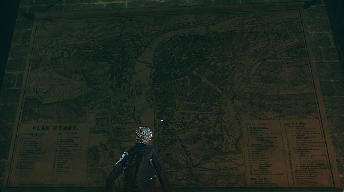 """Bloodhunt - Historische Stadtkarte von """"Prag"""""""