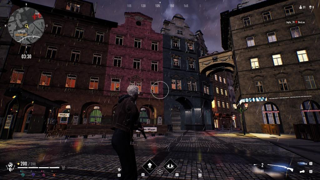 Bloodhunt - Stadt in niedriger Auflösung