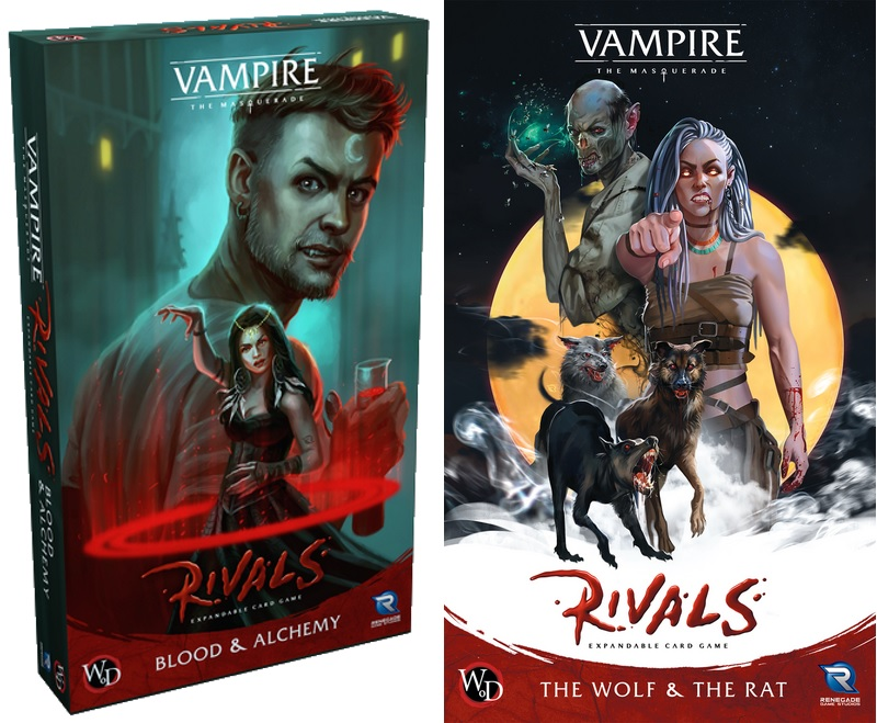 """Rivals: """"Blood & Alchemy"""" sowie """"The Wolf & The Rat"""""""