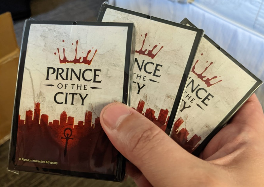 """Rivals: """"Prince of the City"""" Sleeves"""
