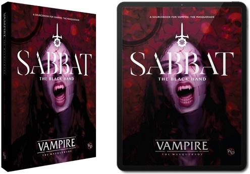 V5 - Sabbat Buch und PDF Graphik - Vampire Die Maskerade
