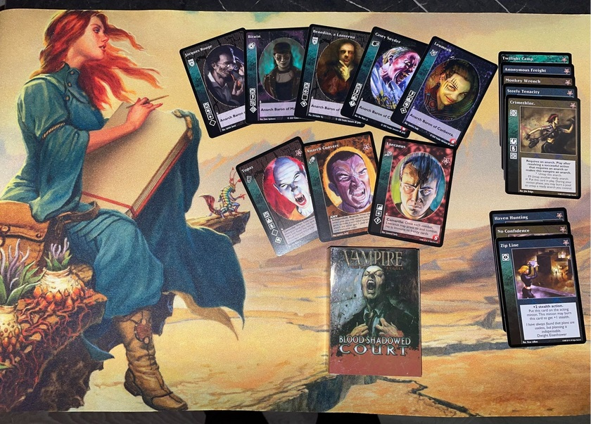 V:tES - Love and Agony - Playmat, Promos and Booster